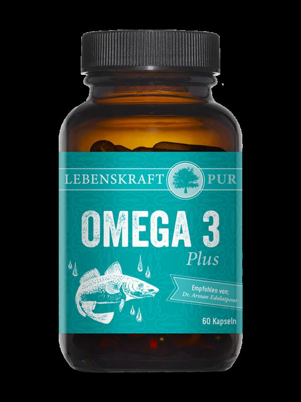 Omega 3 Plus Lebenskraftpur