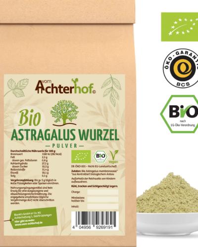 Astragalus 250g Bio Wurzelpulver der Unsterblichkeit
